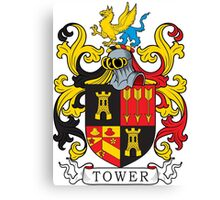Tower Coat of Arms Canvas Print