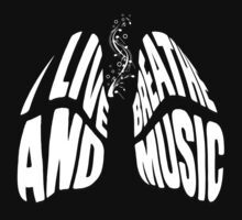 I Live and Breathe Music One Piece - Long Sleeve