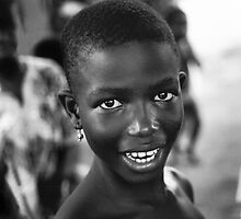 A smile from Togo by Phillip  McCordall