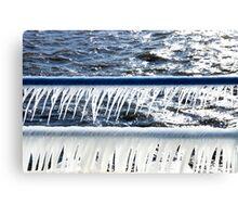 Icicle Railing Canvas Print