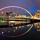 The Glasgow Clyde Arc Bridge by Grant Glendinning