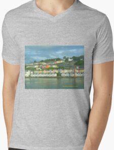 Cork Harbour Mens V-Neck T-Shirt