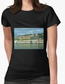 Cork Harbour Womens Fitted T-Shirt