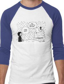 Charlie Snow/Jon Brown and his dog/Direwolf Men's Baseball ¾ T-Shirt