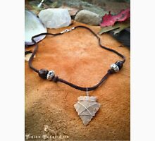 Tribal Handcrafted Flint Stone Arrowhead Pendant Necklace Unisex T-Shirt