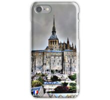 Mont St Michel, France iPhone Case/Skin