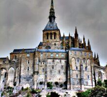Mont St Michel, France Sticker