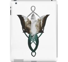 Evenstar at the Argonath iPad Case/Skin