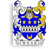Wear Coat of Arms Canvas Print