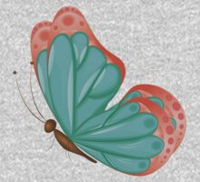 Abstract colorful butterfly 9 Kids Clothes