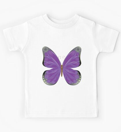 Abstract colorful butterfly 10 Kids Tee