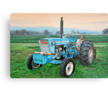 The Ford Tractor Metal Print