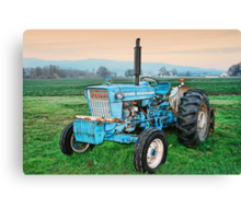 The Ford Tractor Canvas Print