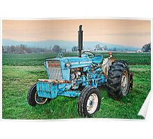 The Ford Tractor Poster
