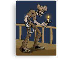 skinny pirate Canvas Print