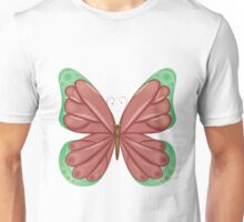 Abstract colorful butterfly 11 Unisex T-Shirt