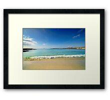 Sanna Bay Ardnamurchan Peninsula Framed Print
