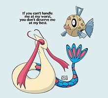Milotic by Samantha Young