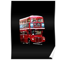 Here Comes A London Bus! Poster
