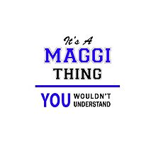 It's a MAGGI thing, you wouldn't understand !! by thestarmaker