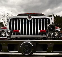 Fire truck grille by Karl Rose
