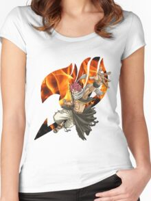 Natsu Fairy Tail 2 Women's Fitted Scoop T-Shirt