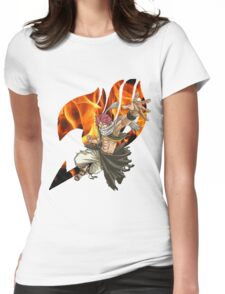 Natsu Fairy Tail 2 Womens Fitted T-Shirt