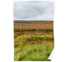 Derbyshire moorland Poster