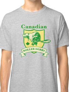 Canadian Roller Derby Classic T-Shirt