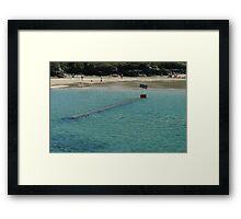 Sunken Bridge Framed Print