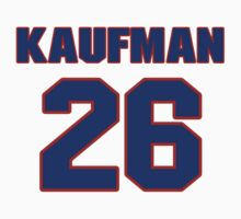 National football player Napoleon Kaufman jersey 26 by imsport