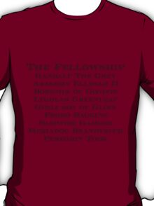 The Fellowship T-Shirt