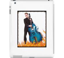Double bass, bass, player iPad Case/Skin