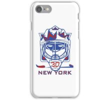 New York Hockey T-Shirt II iPhone Case/Skin