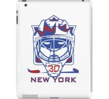 New York Hockey T-Shirt II iPad Case/Skin