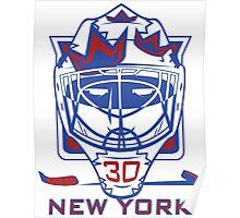 New York Hockey T-Shirt II Poster