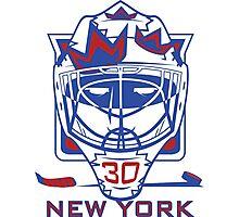 New York Hockey T-Shirt II Photographic Print