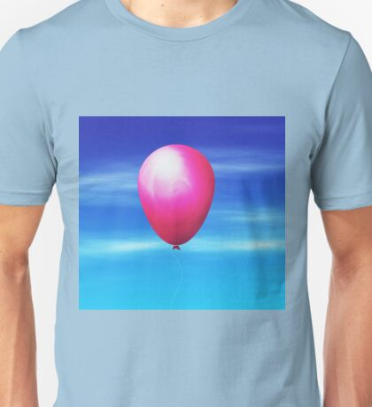 Balloon in the sky Unisex T-Shirt