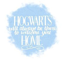 Hogwarts will Always be There to Welcome You Home by ellyblease