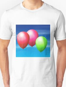 Balloons in the sky Unisex T-Shirt