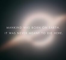 Mankind was born on earth. by mitchoz