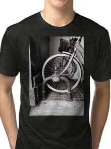 Bicycle Black and White Photography Tri-blend T-Shirt