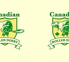 Canadian Roller Derby by John Perlock