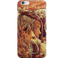 orange fox iPhone Case/Skin