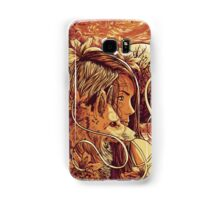 orange fox Samsung Galaxy Case/Skin