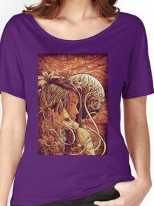orange fox Women's Relaxed Fit T-Shirt