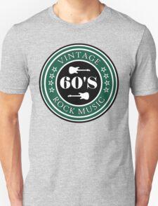 Vintage 60's Rock Music T-Shirt
