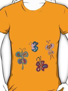 Abstract Butterflies T-Shirt