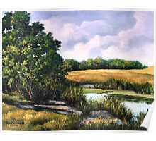 Russell County Pond Poster