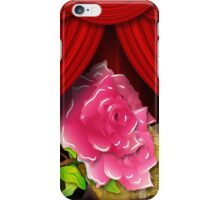 Card with roses and gift box iPhone Case/Skin